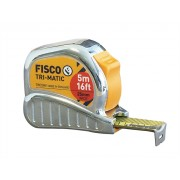 Fisco TMC5ME Chrome Tri-matic Tape 5m/16ft