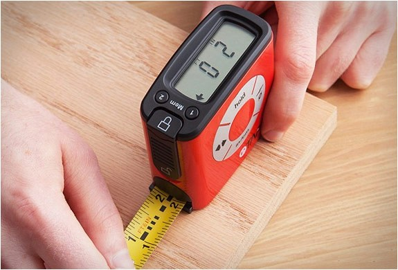 Electronic Tape Measure : Etape digital tape measure m ft the store