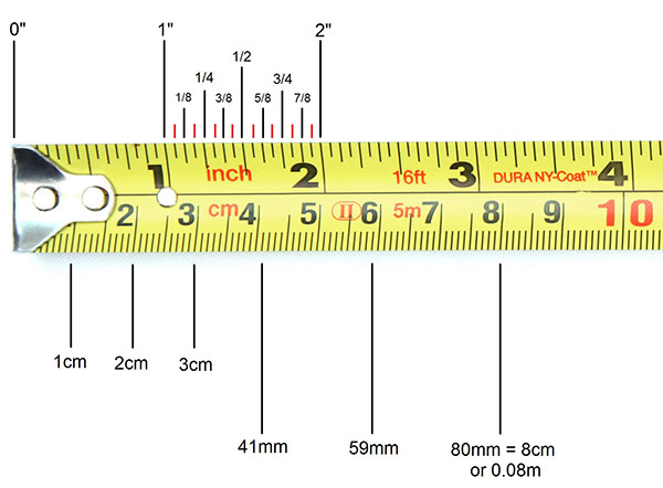 How to Read a Tape Measure | The Tape Store