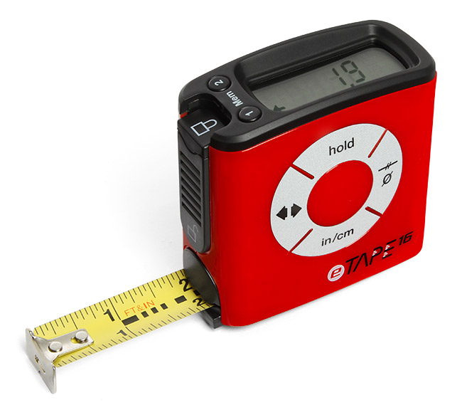 eTape Digital Tape Measures