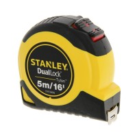 Stanley Dual Lock Tylon 5m/16ft Auto-Lock Tape