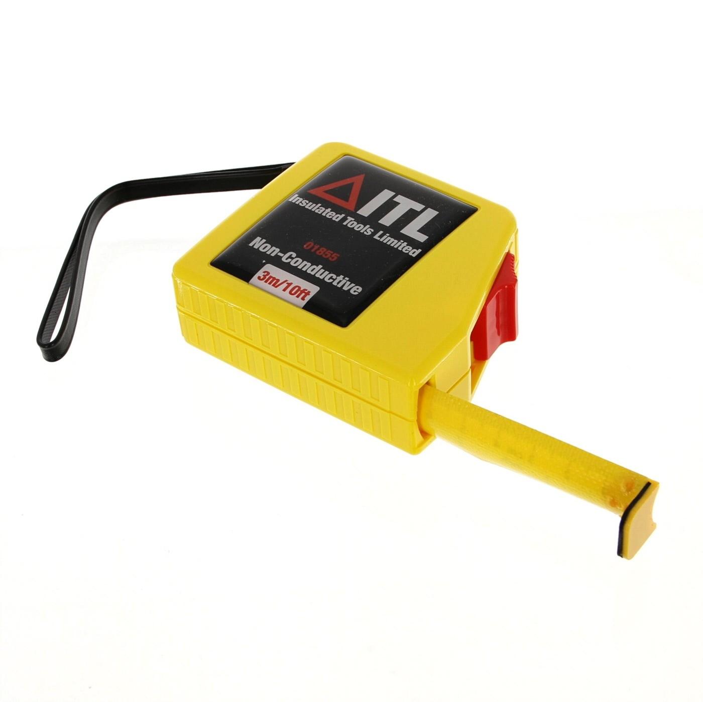Itl Insulated Tools Ltd It//3Mt 3Mtr Non-Conductive Tape Measure