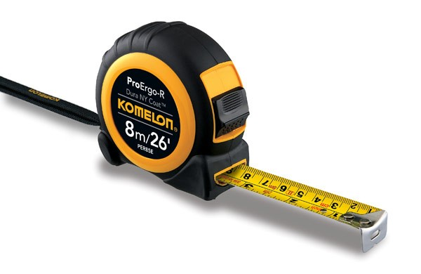 Komelon Pro Ergo R Tape 8m / 26ft PER85E