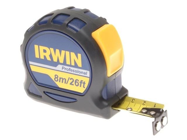 Irwin Professional Pocket Tape 8m (26ft) 10507795 | Tape Measures