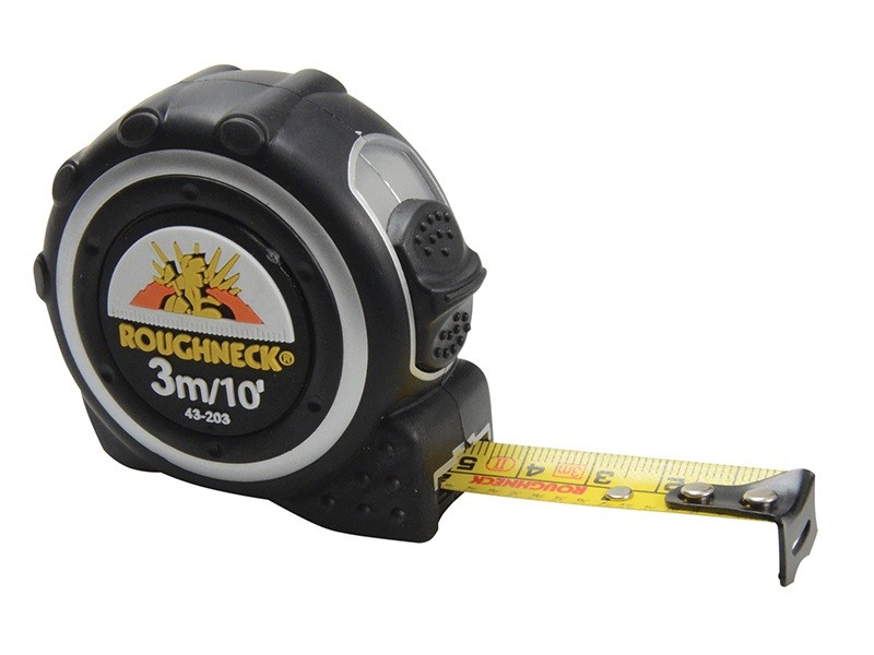 78 On Tape Measure: Roughneck Tape Measure 3m/10ft