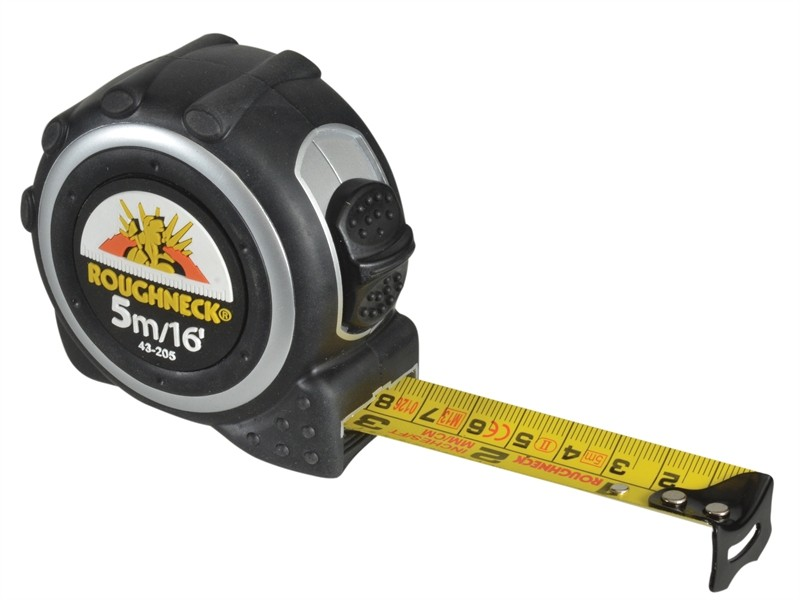 Roughneck Tape Measure 5m/16ft