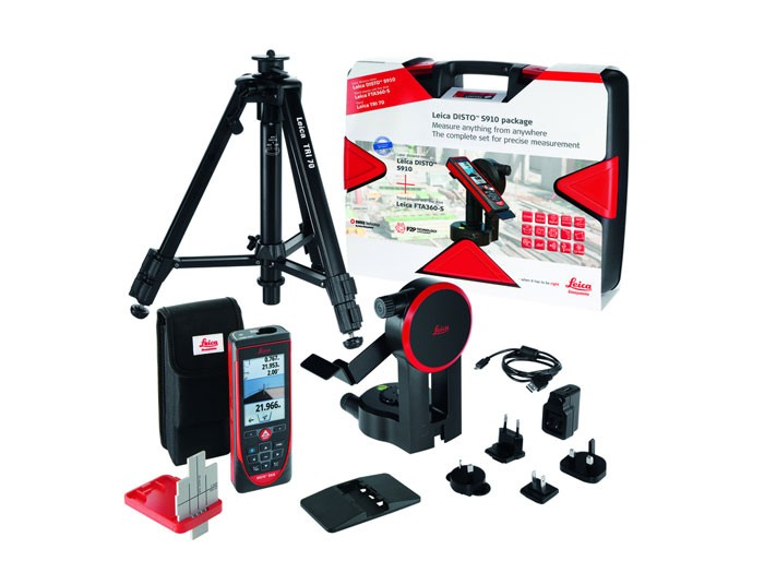 leica disto s910 laser measure pro kit the tape store. Black Bedroom Furniture Sets. Home Design Ideas