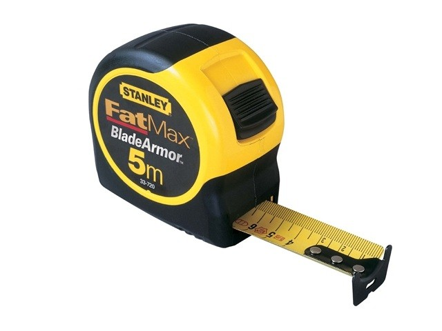 stanley fatmax blade armor 5m 0 33 720 tape measures the tape store. Black Bedroom Furniture Sets. Home Design Ideas