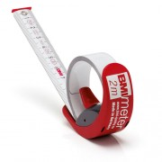 BMI BMImeter 2-in-1 Tape Measure and Ruler 2m