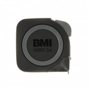 BMI Vario R Stainless Steel Pocket Tape 3m
