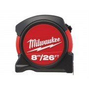 Milwaukee Tape Measure 8m/26ft (Metric/Imperial) 48-22-5625