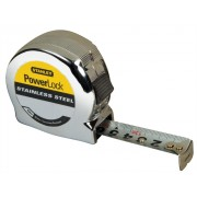 Stanley Powerlock Stainless Steel 8m 0-33-301