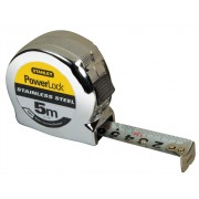 Stanley Powerlock Stainless Steel 5m 0-33-299