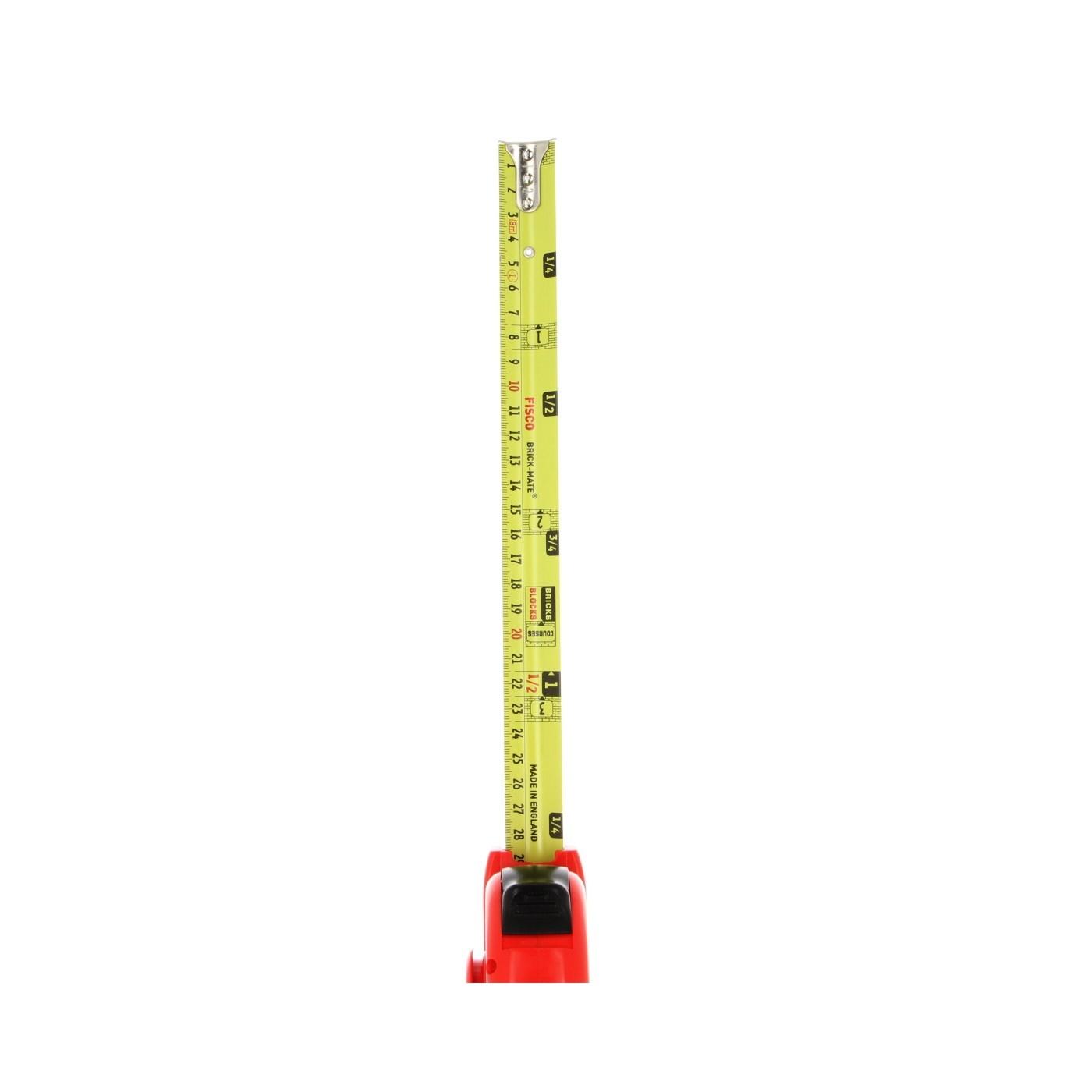 Fisco Bm8 8M Brick-Mate Tape//Brick Course Measure