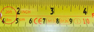 Tape Measure Length