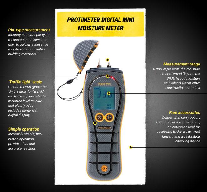 Protimeter Digital Mini
