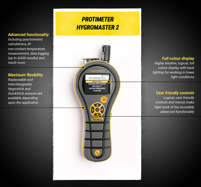 Protimeter Hygromaster 2